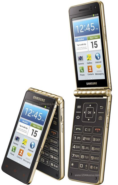 Hp Motorola Flip Terbaru samsung i9230 galaxy golden pictures official photos