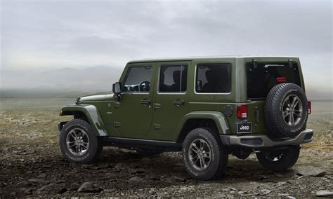 Jeep Wrangler Editions 2016 Jeep Wrangler 75th Anniversary Edition Picture