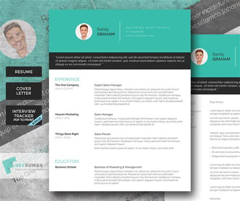 premium resume templates gravity premium resume template pack