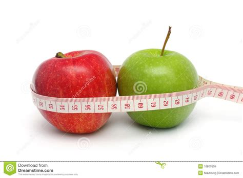 apple diet apple diet result royalty free stock image image 16807076