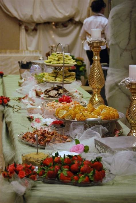 17 Best images about Reception Food Tables on Pinterest