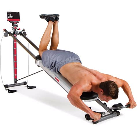 total 1400 deluxe home exercise machine