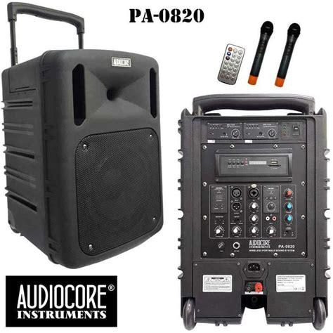 Speaker Aktif Fender jual paket conference audiocore portable harga murah primanada