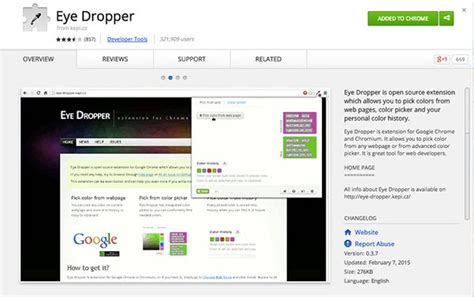 color dropper chrome 24 incredibly simple visual content creation tools for