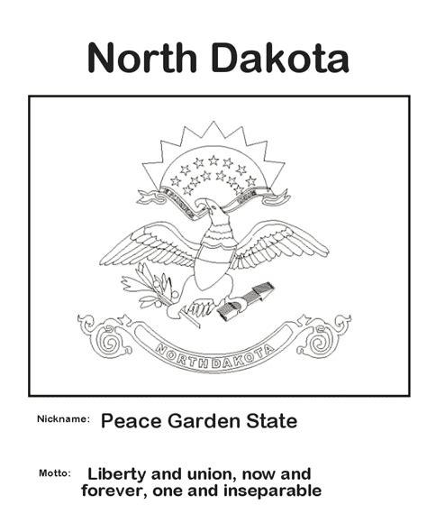 usa printables north dakota state flag state of north