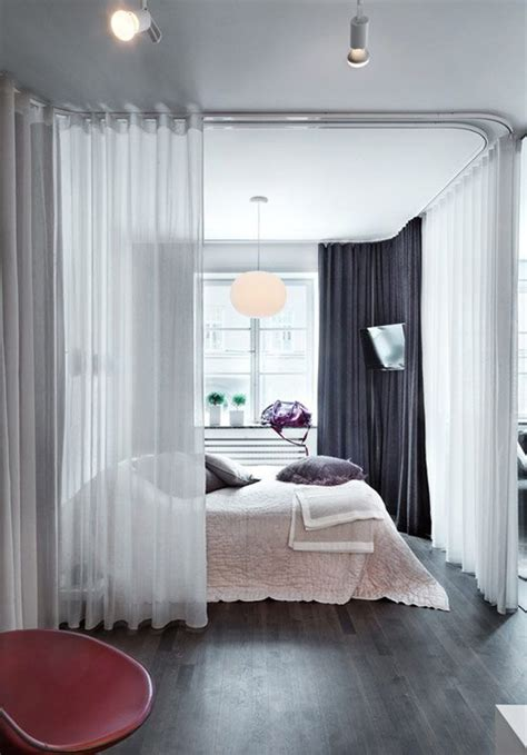 bedroom divider curtains 15 easy and amazing curtains room dividers house design