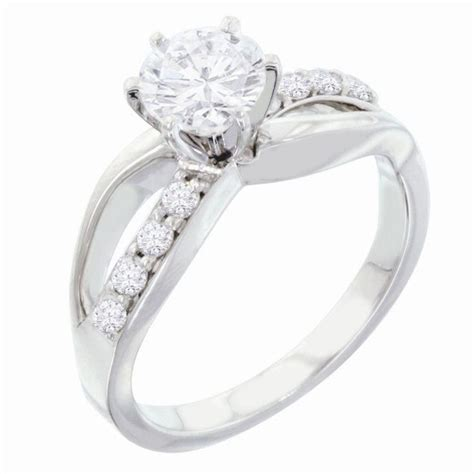 infinity engagement ring mounting bling