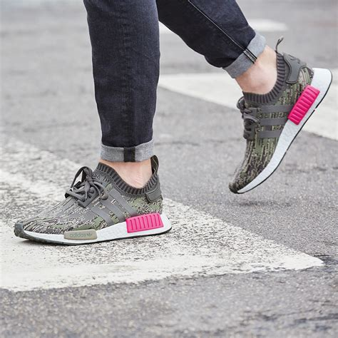Po Adidas Nmd R1 Pk Pink Schock Pink adidas originals drop the nmd r1 quot white noise quot sneakernews