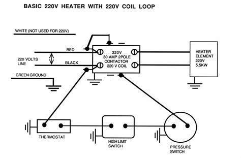220 volt heater wiring diagram 30 wiring diagram images