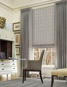Curtains On Windows With Blinds Inspiration 25 Best Large Window Treatments Ideas On Large Window Curtains Big Window Curtains