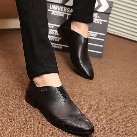 Korean Addicted Leather Shoea new leather shoes fashion korea loafers