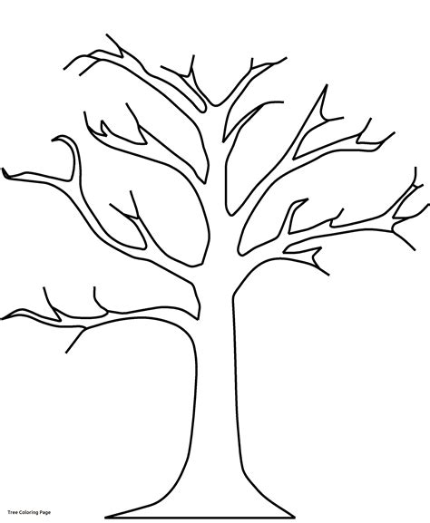 Size Tree Coloring Page Fall Tree Coloring Pages Getcoloringpages Of Tree Coloring by Size Tree Coloring Page