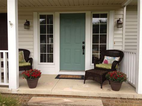 blue front door sherwin williams underseas one darker than halcyon green home