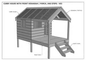 Building A House Floor Plans Cubby House Play House Build One With Your Children