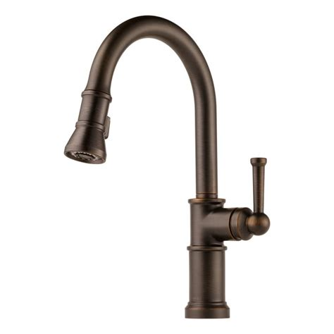 venetian bronze kitchen faucets faucet 63025lf rb in venetian bronze by brizo
