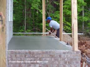 Home Addition House Plans porch foundations porch repairs porch footing