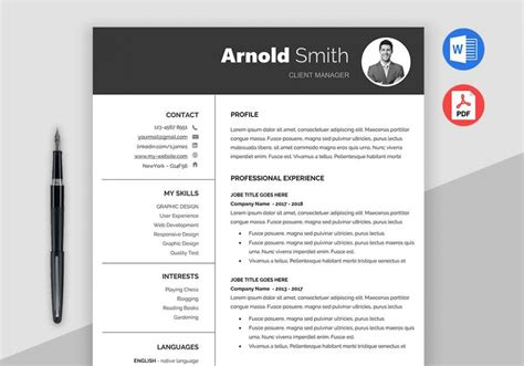 Free Downloadable Resume Template by Forever Free Resume Templates Downloadable Maxresumes