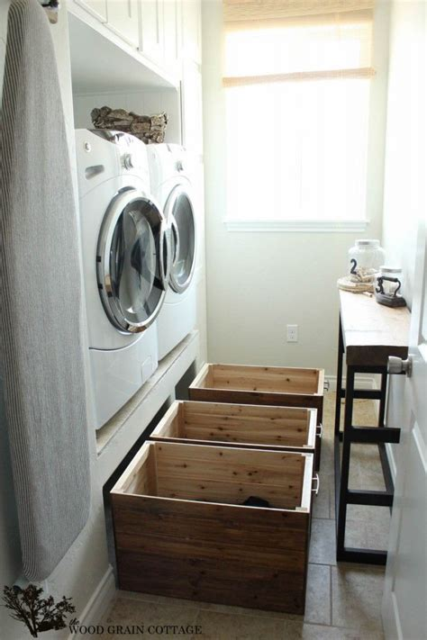 diy laundry room diy laundry room crates