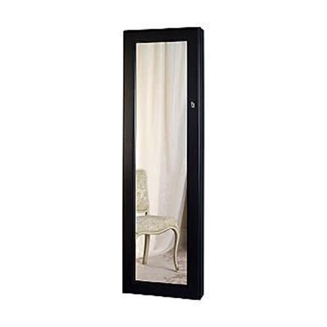 Wall Mirror Jewelry Cabinet by Quot Safekeeper Quot Wall Mirror Jewelry Cabinet