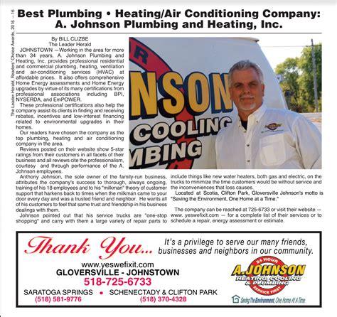 Johnson Plumbing And Heating a johnson plumbing heating inc gloversville new york