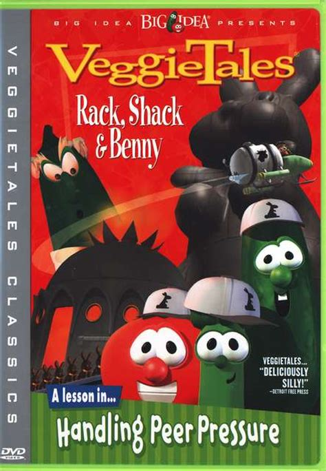 Rack Shack Benny by Rack Shack And Benny Veggietales The Ultimate