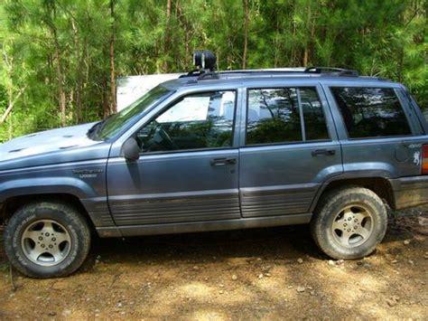 1995 Jeep Grand Se Purchase Used 1995 Jeep Grand Se Sport Utility 4