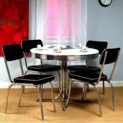 retro kitchen furniture retro bistro dining table 4 chairs set vintage kitchen