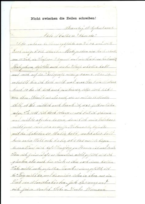 Cancellation Letter In German ww1 letter format choice image cancellation letter german resumer exle