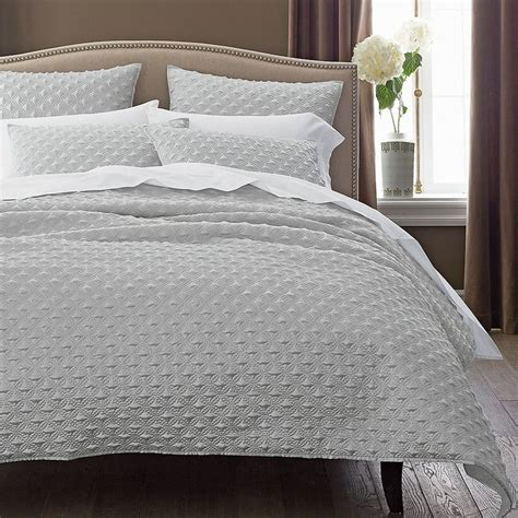 silk coverlets legends kensington faux silk coverlet sham the company