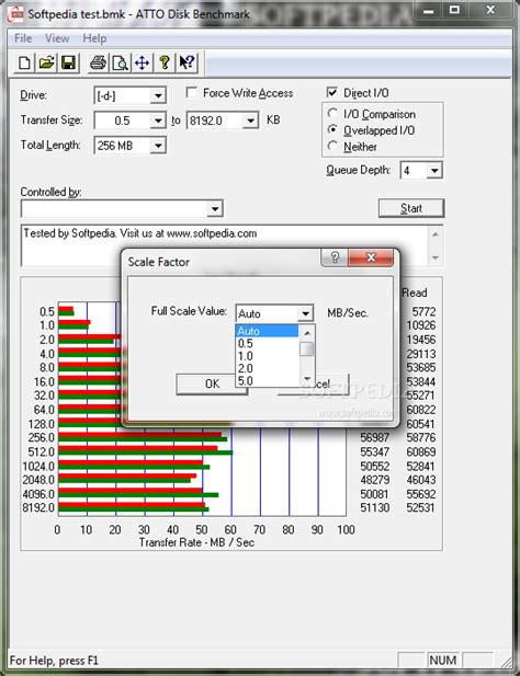 disk bench atto disk benchmark download softpedia