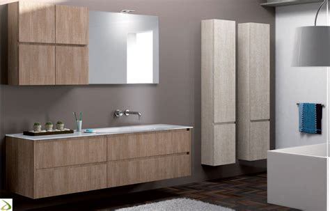 mobile colonna per bagno bagno moderno sospeso parizio arredo design