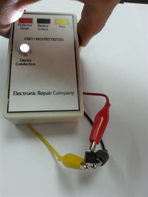 igbt transistor test mosfet igbt tester