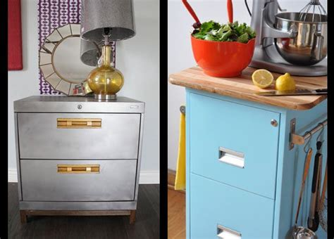 Upcycled Metal Filing Cabinet Filing Cabinet Upcycle 2 Ways Upcycle That