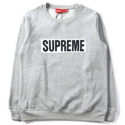Supreme Jumbo Sweater supreme box logo marathon sweater gray supreme box logo