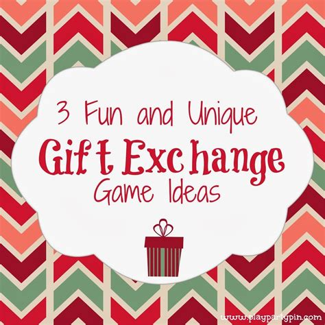 3 fun and unique gift exchange ideas