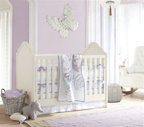 Crib Bedding Pottery Barn Mallory Butterfly Nursery Bedding Pottery Barn