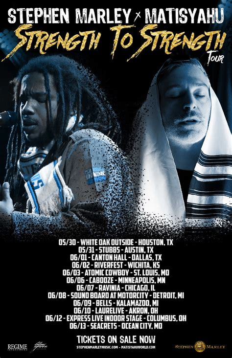 Strength To Strength matisyahu and stephen marley join forces for strength to