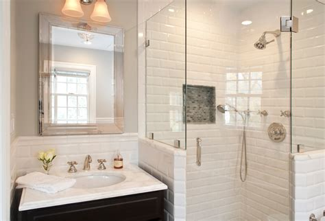 White Subway Tile Bathroom Pictures by White Subway Tile Bathroom Pictures Desainrumahkeren
