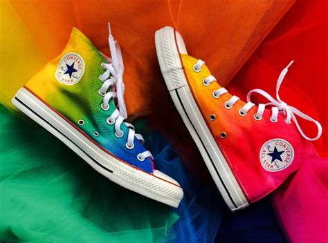 Converse Rainbow rainbow converse shoes images