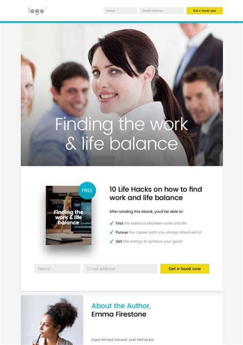 Opt In Page Templates By Getresponse Opt In Page Templates Free