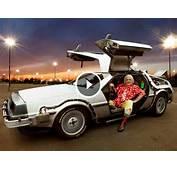 DeLorean Time Machine Undergoing Restoration