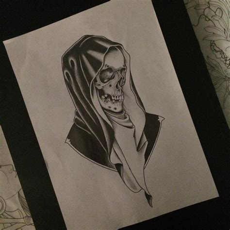 traditional grim reaper tattoo neo traditional reaper search skulls