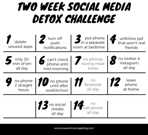 Inspiration Social Media Detox by Two Week Social Media Detox Challenge And Marriage
