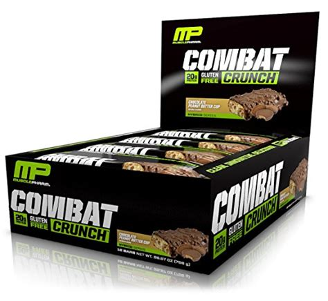 Musclepharm Combat Crunch Bar 12 Buah musclepharm combat crunch protein bar 12 count as low as