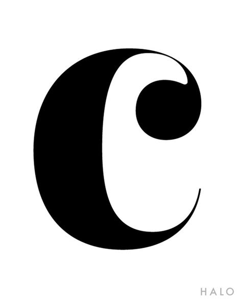 letter c typography pin by carol lewis on i quot c quot