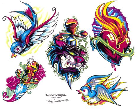 tattoo flash designs design flash collection lawas