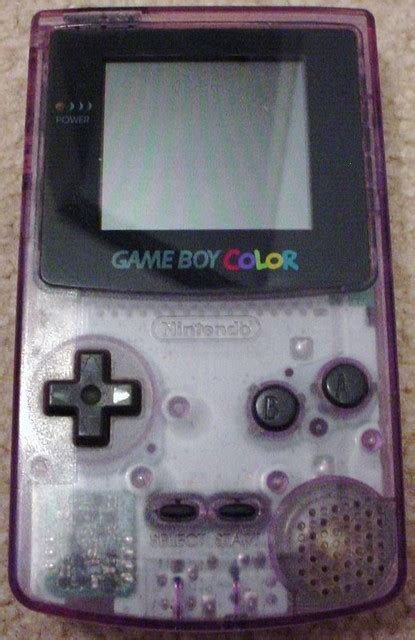 atomic purple gameboy color boy color atomic purple released in late 1998
