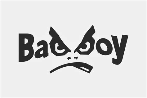 boys bad design bad boy logo logo