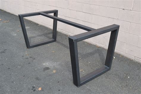 Table Supports by Made Industrial Style Steel Table Base By Steeldesign