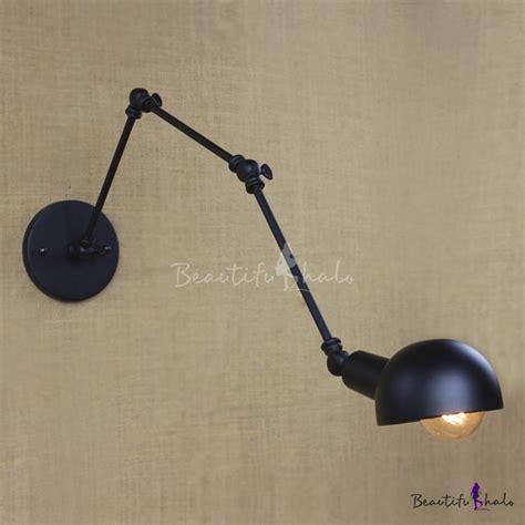 swing arm task l antique pewter 1 light hallway swing arm task lighting led